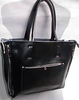 Женская кожаная сумка 8650 Черный Кожаные женские сумки купить в Одессе 7 км