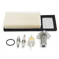 Настроить воздух Масло Топливный фильтр для штепсельной вилки Набор Для 94-05 EZGO TXT MEDALIST Gas Golf Cart
