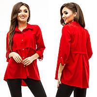 Рубашка-туника женская (цвета) АНД283, фото 1