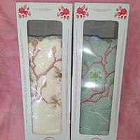 Полотенце для лица махровое полотенце 50-100 см в подарочной упаковке