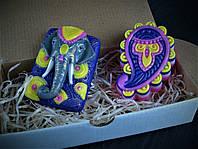 """Подарок женщине """"Индийский слон"""""""
