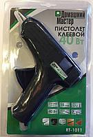 Пистолет клеевой 40Вт, 230В, под стержни 11.2мм, 10г/мин. RT-1011 Intertool
