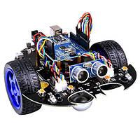 YahBoom Smart Bat Robot Интеллектуальное программирование Bluetooth Controll Авто Набор с платой Arduino UNO R3
