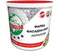 Краска фасадная акриловая Anserglob «ЭКО+» (7,5кг)