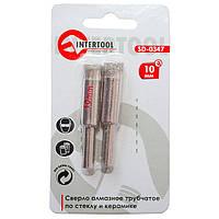 Сверло алмазное трубчатое по стеклу и керамике 10 мм SD-0347 Intertool