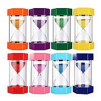 20мин Песок Часы Таймер Шестиугольный аутизм Песочные часы Песочные часы Домашний офис Декор 8 цветов