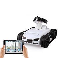 777-270 Дистанционное Управление Mini WiFi RC Авто с поддержкой камера IOS Phone Android Игрушка для танков в реальном времени