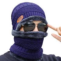 На открытом воздухе Руна Шапка Верховая езда Лыжные ветрозащитные вязальные шапки Велоспорт Бег Спорт Маска Спортивный теплый шарф