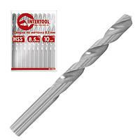 Сверло по металлу DIN338 8.5мм HSS SD-5085 Intertool