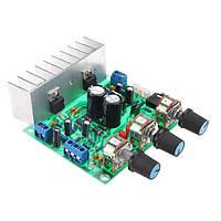 TDA2030A DC 12V 30W+30W 3-канальная мощность Усилитель Плата управления громкостью предусилителя Интегральные схемы платы 3,5 мм Стереоинтерфейс