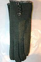 Женские зеленые перчатки
