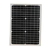 20W 18V Монокристаллический кремний Солнечная Панель со спиновым соединением Коробка