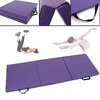 70.8x23.6x1.9inchСкладнаяпанельGymnasticsMatGym Упражнение Yoga Pad Спортивное обучение Защитное снаряжение