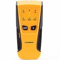 Floureon 3 in 1 Металлический детектор AC Live Провод Детектор детекторного детектора Светодиодный Автоматическая калибровка звукового сигнала