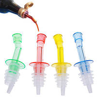 Набор из 4 пробок дозаторов гейзеров для бутылок