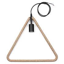E27 Ретро Винтаж Промышленный Кулон Потолочный светильник Creative Hemp Веревка Люстра Лампа AC110-220V, фото 3