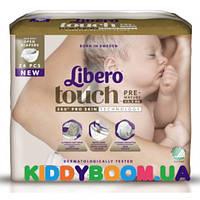 Подгузники Libero Touch Pre-Mature (до 2.5 кг) 24 шт