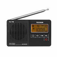 Tecsun PL-118 DSP FM Стерео Портативный Радио Приемник ETM Часы Тревога