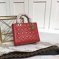Сумка-коробка из натуральной кожи Dior