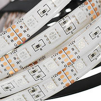 5M 5050 Водонепроницаемы RGB LED Strip Light + WiFi-контроллер работает с Alexa + 24Keys Дистанционное Управление DC12V -1TopShop, фото 3
