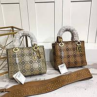 Сумка с металлическими украшениями Dior