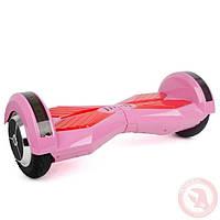 "Гироборд-скутер электрический. 4400 мАч, колеса 6.5"". Pink"