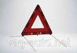 Знак аварийной оставновки Skoda Rapid