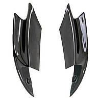 OnePairStyleCarbonFiberПередние бамперные сплиттеры для губ BMW F10 M5 2012-2016