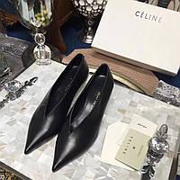 Туфли кожаные Celine