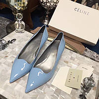 Лакированные туфли с длинным носком Celine