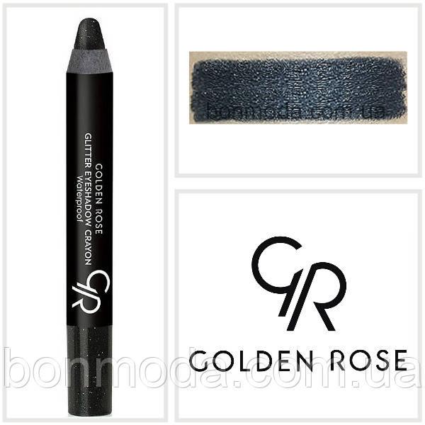 Тени-карандаш для век Golden Rose Glitter Eyeshadow Crayon № 51