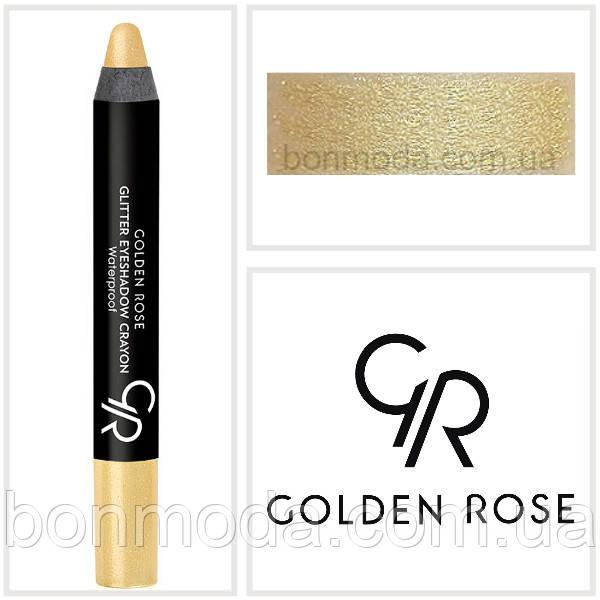Тени-карандаш для век Golden Rose Glitter Eyeshadow Crayon № 53