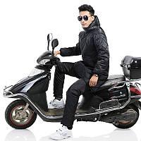 Зима мотоцикл Скутер-верховая ветрозащитная одежда Водонепроницаемы Теплая раздельная Тип