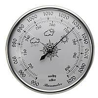980 ~ 1040hPa Барометр Датчик давления воздуха Weatherglass Weather Meter Wall Hanging