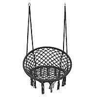 НаоткрытомвоздухеПодвеснойгамак-стулКемпинг Сетка с одной качающейся подушкой Макс.Нагрузка 120 кг