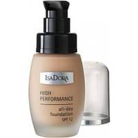Тональный крем High Performance All-Day Foundation SPF12 №03 Nude Beige IsaDora