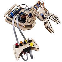 SunFounder Rollarm DIY 4-осевая деревянная Сервопривод Ручка управления роботом Набор для Arduino Uno
