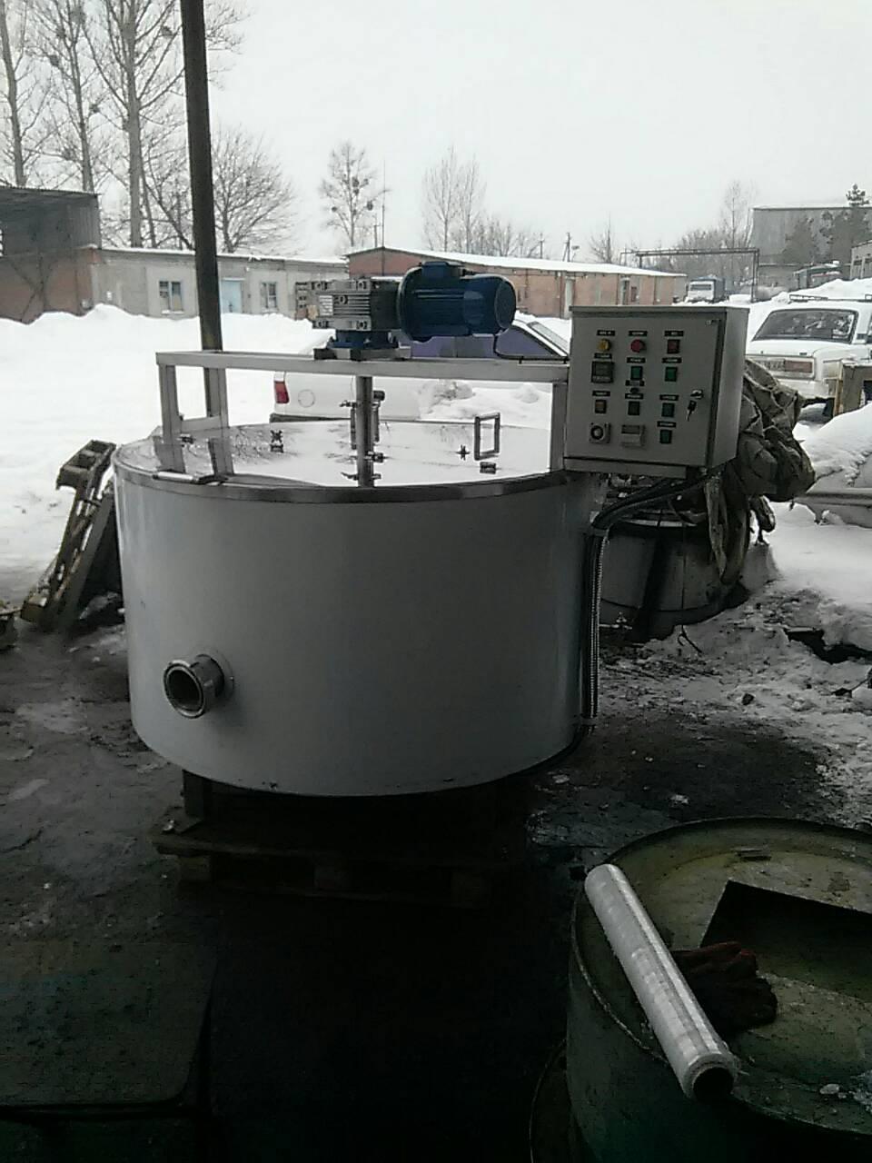 Котел сыроварня кпэ-600