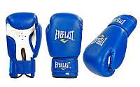 Перчатки боксерские PVC на липучке ЮНИОР MA-0033-B(10) ELAST (р-р 10oz, синий)