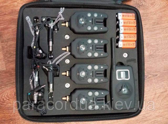 Беспроводная сигнализация поклёвки ,4 свингера,сигнализатор +пейджер