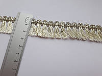 Бахрома світле золото люрекс 2-2.5см.