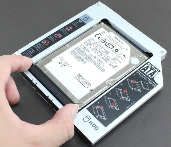 Устанавливаем второй жесткий диск в ноутбук