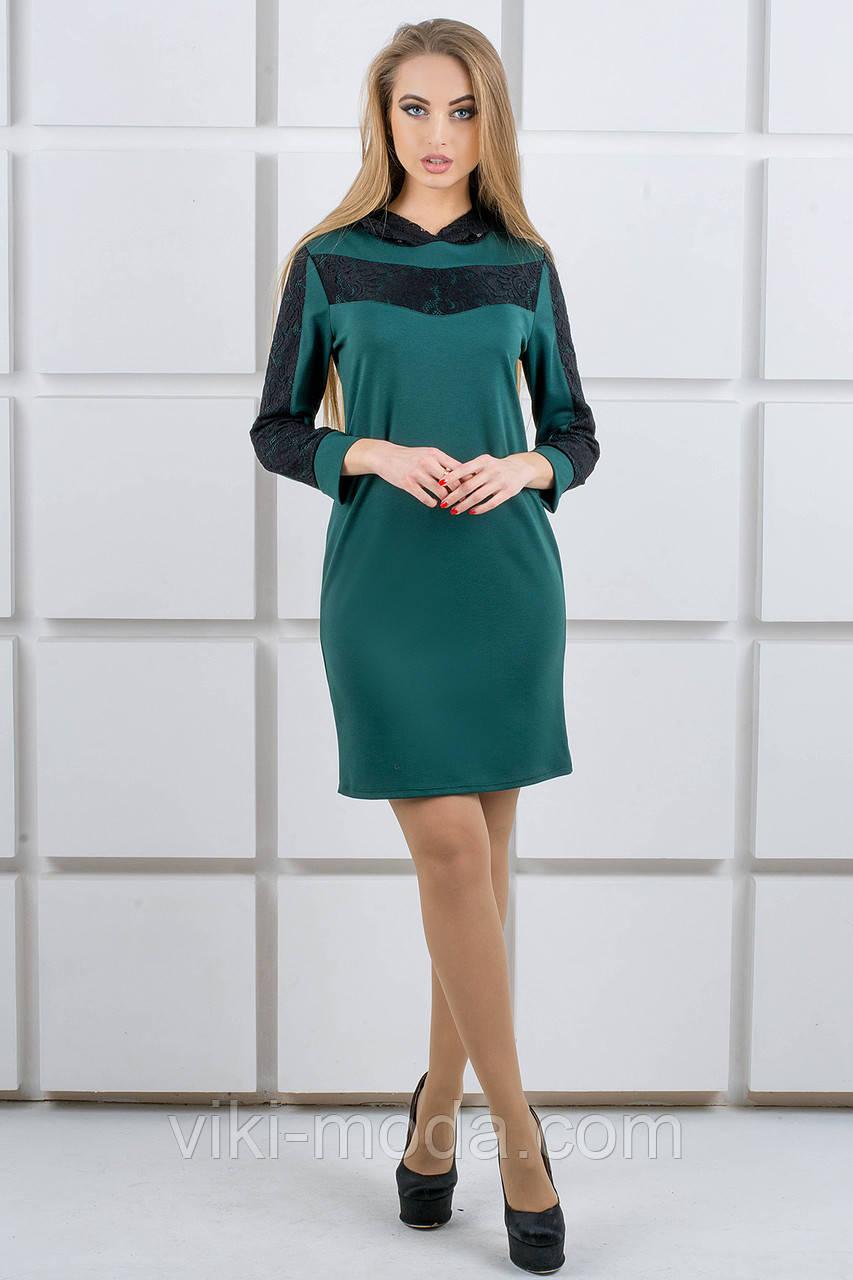 Молодежное платье Камита (зеленый)