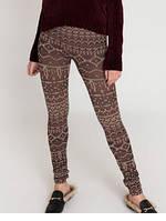 100% оригинал. Супер мягкие леггинсы лосины штаны объёмная вязка утеплённые от Ardene Канада.