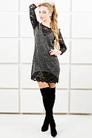 Молодежное платье Монита (черный), фото 1