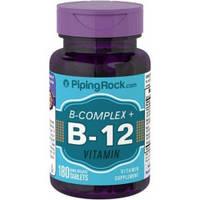 Витамины B-COMPLEX PLUS VITAMIN B-12 180 таблеток