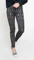 100% оригинал. Супер мягкие флисовые леггинсы лосины штаны объёмная вязка утеплённые от Ardene Канада.