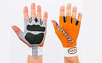 Перчатки с длинной эластичной манжетой ZEL ZG-3601-M (откр.пальцы, р-р M, цвета в ассортименте)