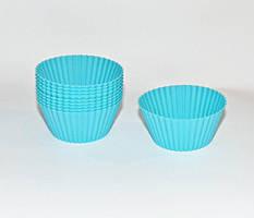 Формы силиконовые для кексов Con Brio (набор 10 шт) 6,8х3,4 см