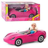 Кукла барби с машиной Defa 8228, фото 1
